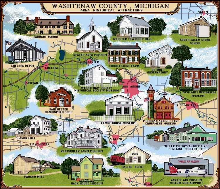 Historical Throw of Washtenaw County
