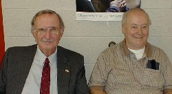 Former Pittsfield Township Supervisors Jack Morris and Doug Woolley