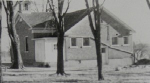 Mills School Addition Circa 1935