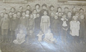 Mills School Children Circa 1908