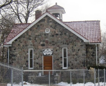 Stone School, front view