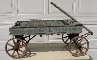 wagon donated by Shirley Thayer