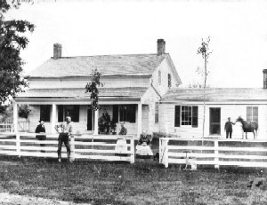Marriott-Webb Farmhouse, circa 1862