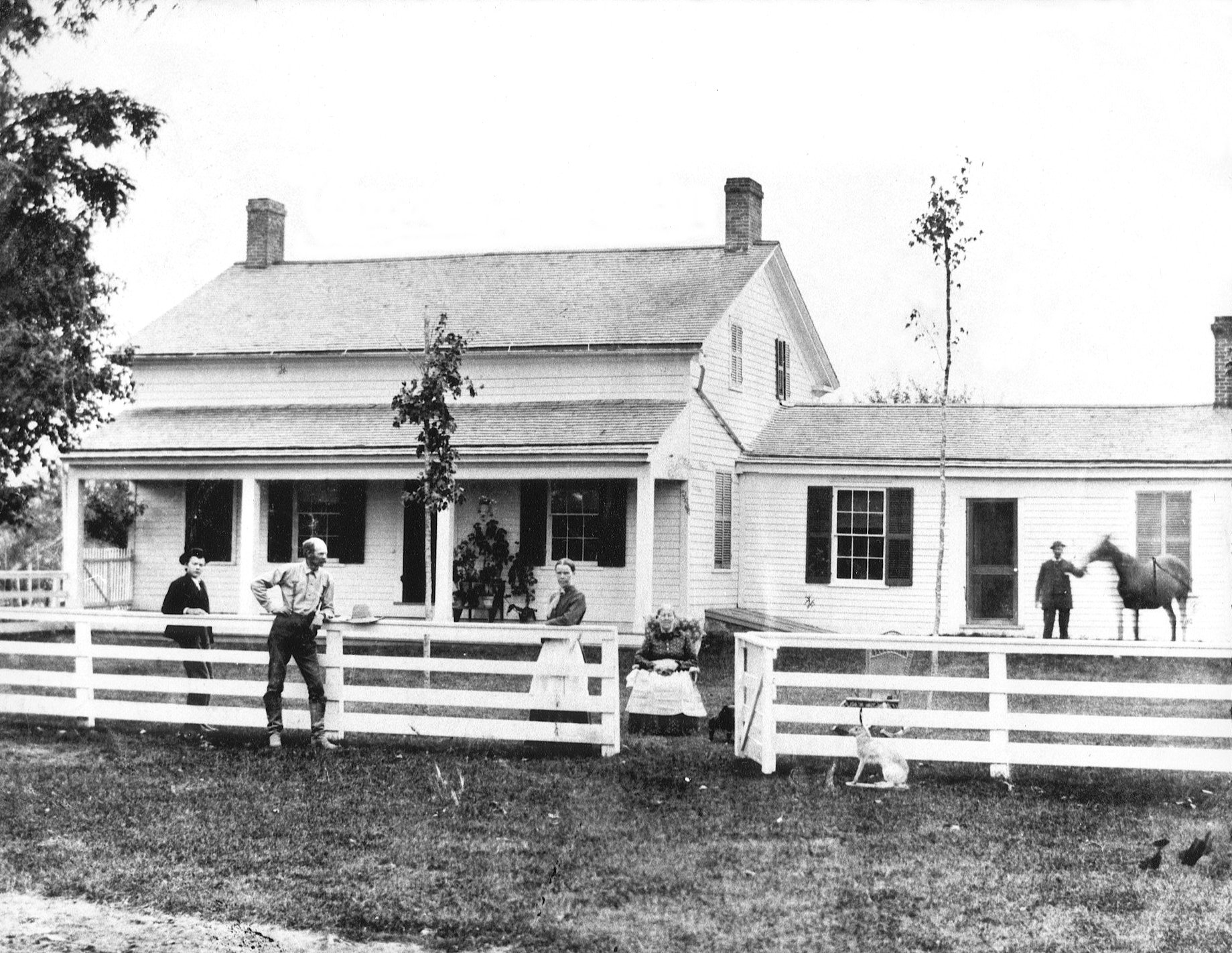 Pittsfield Township Historical Society :: The Marriott-Webb Farm ...